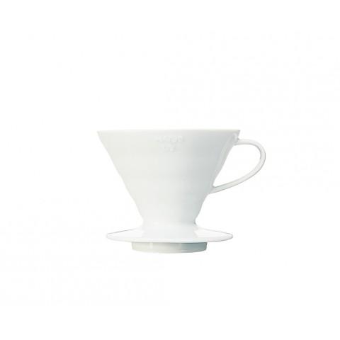 V 60 céramique blanc 1 à 2 tasses Hario