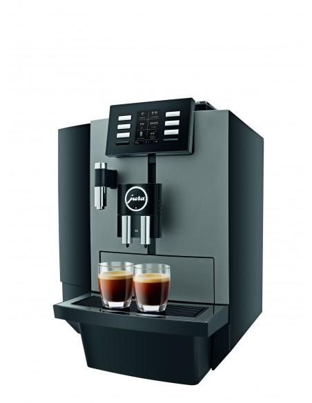 Machine à café en grain pro Jura X 6 Dark inox