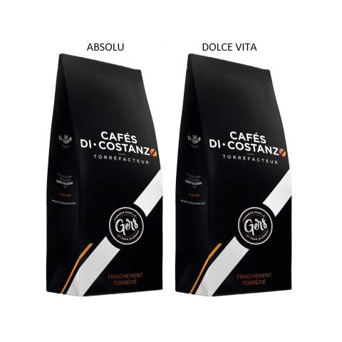 Box Découverte Cafés Blend 2 kg - café en grain